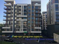 Дворівнева трикімнатна квартира з терасою в клубному будинку ЖК «ПРАГА»